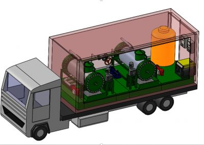 New mobile waste treatment